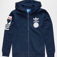 Adidas Originals Street Graph Mens Hoodie Navy  In Sizes