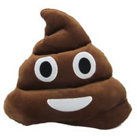 Emoji Pillow Cute Shits Poop Stuffed Toy Doll Plush Cushion