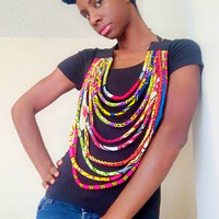 African Stunner Necklace