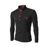 Men's Style Polo Shirts, Spring Casual Fitness
