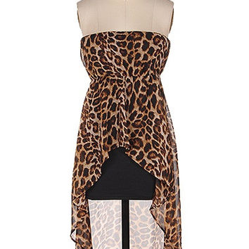 Ready to Party Leopard Print Dress