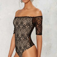 Lace the Music Bodysuit
