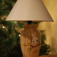 Lamp Kodama Ghibli shines in the dark