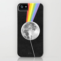 Dark Side of the Moon. iPhone Case by Nick Nelson | Society6