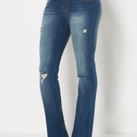 Ripped Slim Boot Jean by Wild Blue x Sadie Robertson™ | Bootcut Jeans | rue21