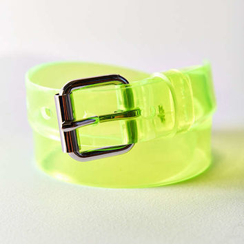 Neon PVC Belt - Urban Outfitters