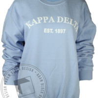Kappa Delta 1872 Sweatshirt - Adam Block Design