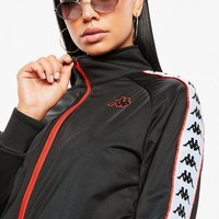 Missguided - Kappa Black Banda Anniston Slim Jacket