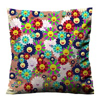 TAKASHI MURAKAMI EYES Cushion Case Cover