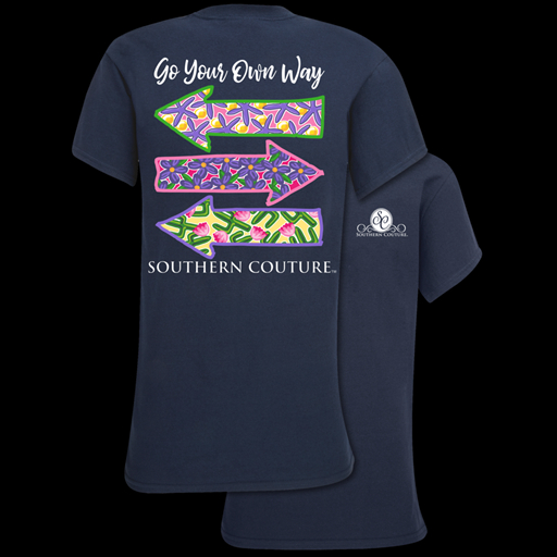 Image of Southern Couture Classic Go Your Own Way T-Shirt
