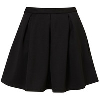 Black Ribbed Pleated Skirt - Sale - Sale & Offers - Topshop USA
