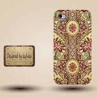iphone case, i phone 4 4s 5 case,cool cute iphone4 iphone4s  5 case,stylish plastic rubber cases cover, yellow green floral indian p1024