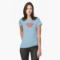 'DUMP HIM - Britney Spears message tee' T-Shirt by liminalspaces