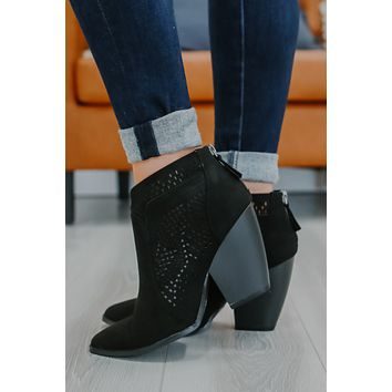 Hannalee Booties - Black