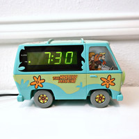 VINTAGE Mystery Machine Alarm Clock
