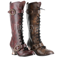 Alexandra Steampunk Boots - FW3013 by Medieval Collectibles