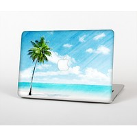 The Paradise Beach Palm Tree Skin Set for the Apple MacBook Air 11""