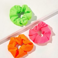 Solid Scrunchie 3pack