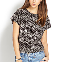 Worldly Tribal-Inspired Top