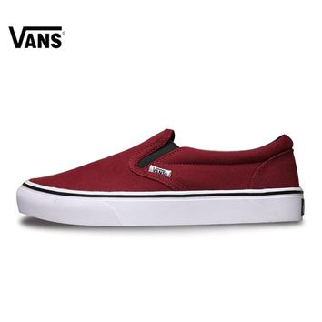 VANS Classic Slip-On Original New Arrival Vans Classic Mens Skateboarding Shoes Low Top for men VN6A85F2OVY 40-44