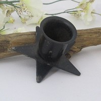 Pentagram Taper Candle Holder
