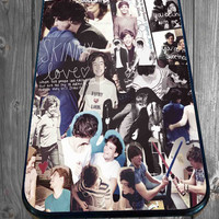 Larry Harry Styles and Louis Tomlinson for iPhone 4/4s/5/5S/5C/6, Samsung S3/S4/S5 Unique Case *95*