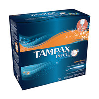 Tampax Pearl Tampons, Super Plus Unscented | Walgreens