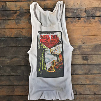 Devil Girl From Mars salvaged tank