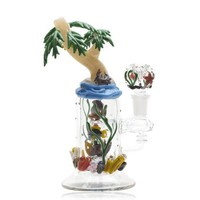 Empire Glassworks Paradise Island Mini Rig Water Pipe