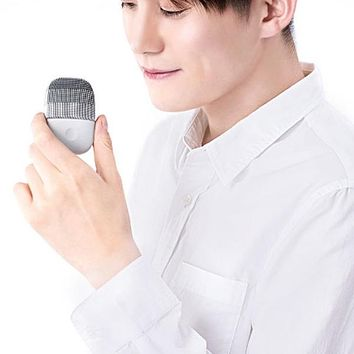 inFace MS - 2000 Adjustable Waterproof Electric Sonic Silicone Facial Cleansing Brush from Xiaomi youpin
