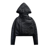 OVERSIZED HOOD PADDED COAT