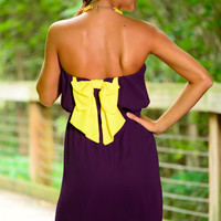 Stand Up And Holler Dress, Purple
