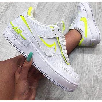 Nike WMNS Air Force 1 Shadow Ultra light low top sports casual shoes