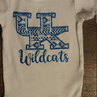 Kentucky Wildcats Aztec Onesuit or Toddler Shirt!