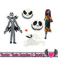 DISNEY The Nightmare Before Christmas Dress It Up Jesse James Buttons
