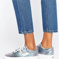 Vans Holographic Old Skool Trainers at asos.com