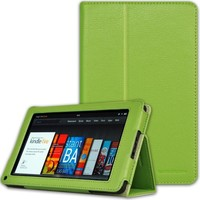 CaseCrown Bold Standby Case (Green) for Amazon Kindle Fire Tablet (Not Compatible with Kindle Fire H