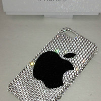 Crystal Bling Rhinestone Case For iPhone 5 Made With SWAROVSKI Elements FREE  SHIPPING