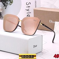 DIOR Stylish Ladies Luxury Summer Sun Shades Eyeglasses Glasses Sunglasses 4#