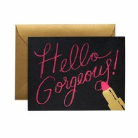 Rifle Paper Co.: Hello Gorgeous Greeting Card