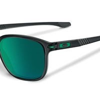 Oakley Sunglasses - Enduro - Black Ink, Jade Iridum Polarized OO9233-15