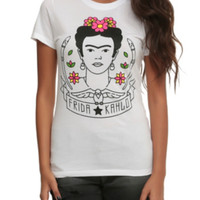 Frida Kahlo Portrait Girls T-Shirt