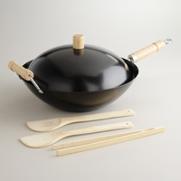 Non-stick Wok 5-Piece Set - World Market