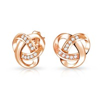 Bling Jewelry Knot Fair Studs