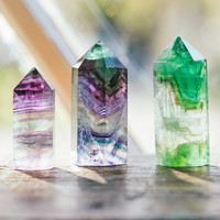 Polished Fluorite Point - Small
