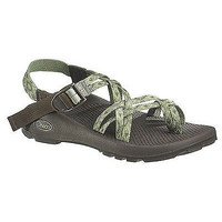 Chaco Women's ZX2 Unaweep Women's Sandals Crop Circles Green Size 5 Toe Loop New