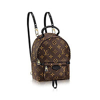 Bunchsun Authentic Louis Vuitton Monogram Canvas Palm Springs Backpack Mini Handbag Article: M41562 Made in France