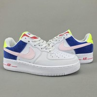 Women's and men's nike air force 1 SE cheap nike shoes 074