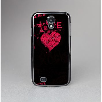 The Grunge Love Rocks Skin-Sert Case for the Samsung Galaxy S4