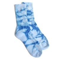 Quiet Life: Tie Dye Sock Pack - Blue